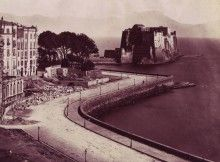 Il Vesuvio da via Parthenope