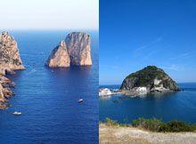 Essere isola tra isole: Ischia/Procida e Capri, storie (non nature) a confronto